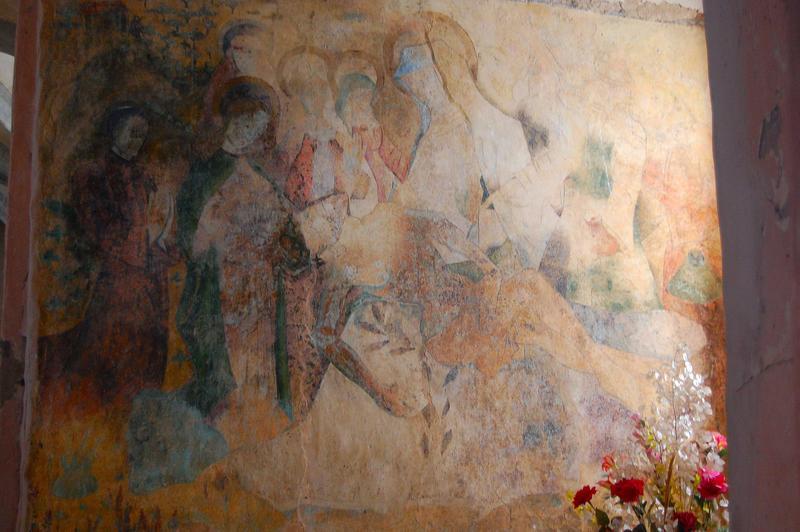 Ensemble des peintures murales.