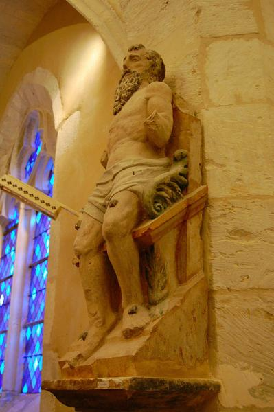Statue : Martyr (Saint Quentin ?)