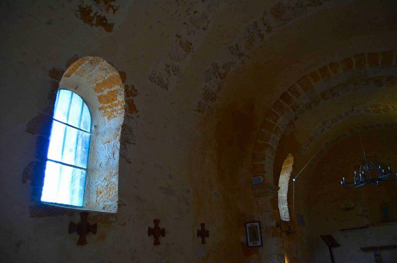 vue partielle de la nef, mur Nord