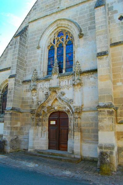 façade occidentale, vue partielle