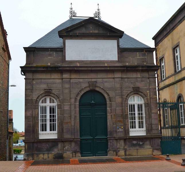 Pavillon ouest, façade sud, vue générale