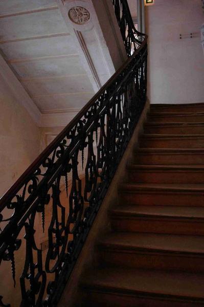 Escalier, vue partielle