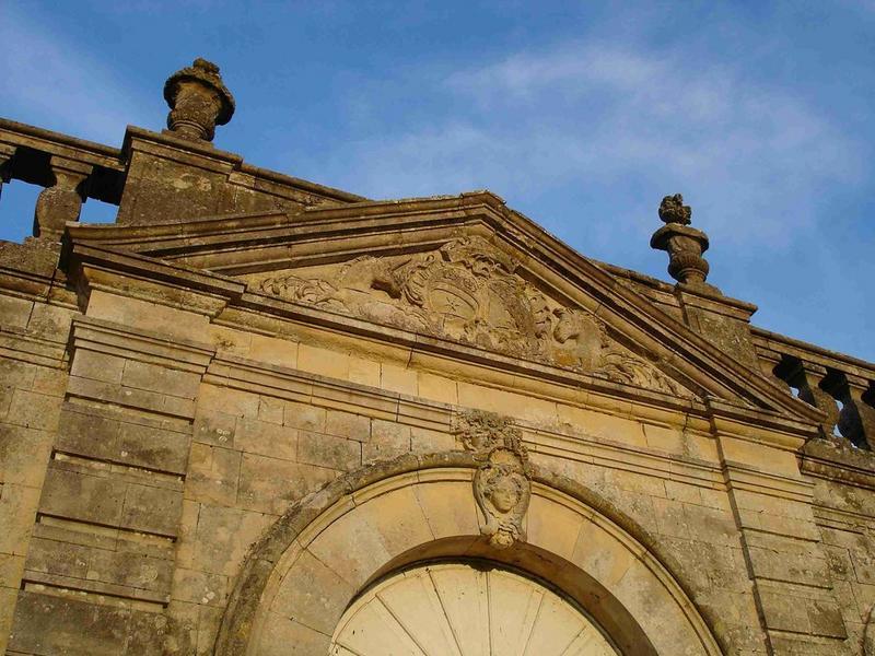 Pavillon de l'orangerie, vue partielle