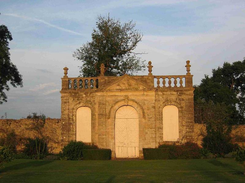 Pavillon de l'orangerie, vue générale