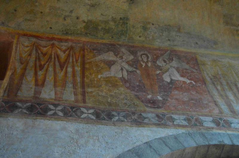 Peinture monumentale de la nef : le ravissement de sainte Madeleine, vue générale