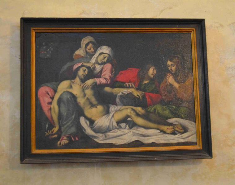 Tableau : Vierge de pitié, vue générale