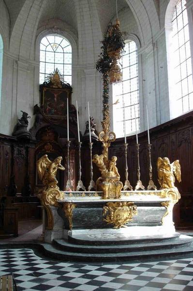 maître-autel, vue générale
