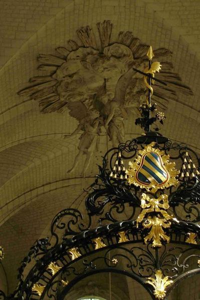 Clôture de choeur, détail de la partie supérieure