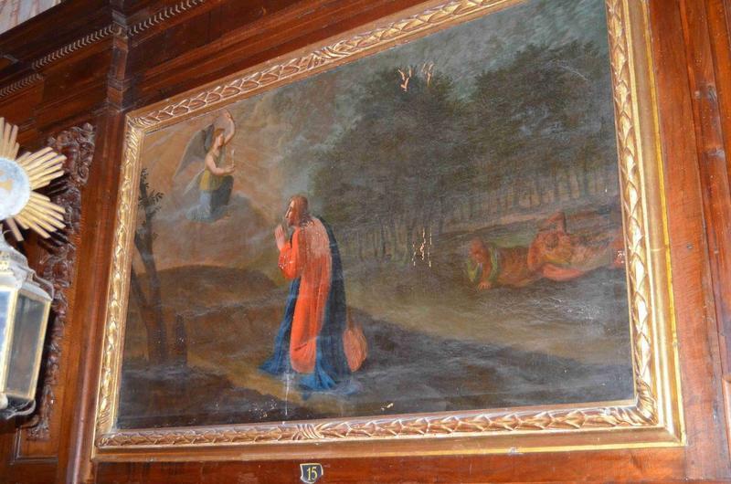 Tableau : Christ au jardin des Oliviers (le), vue générale