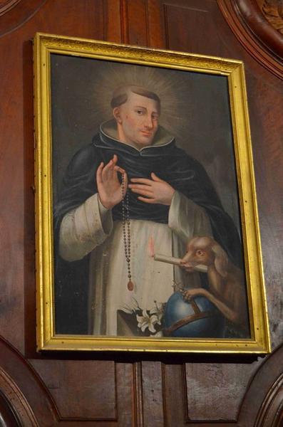 Tableau : Saint Dominique, vue générale
