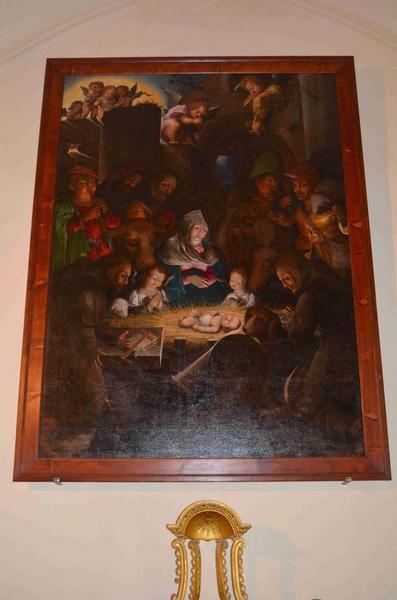 Tableau : la Nativité, vue générale