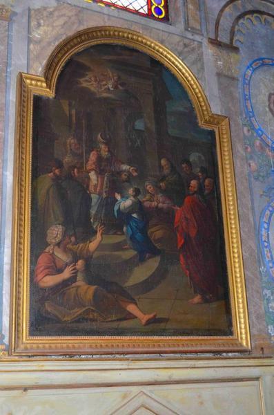 Tableau : Présentation de la Vierge au Temple (la), vue générale