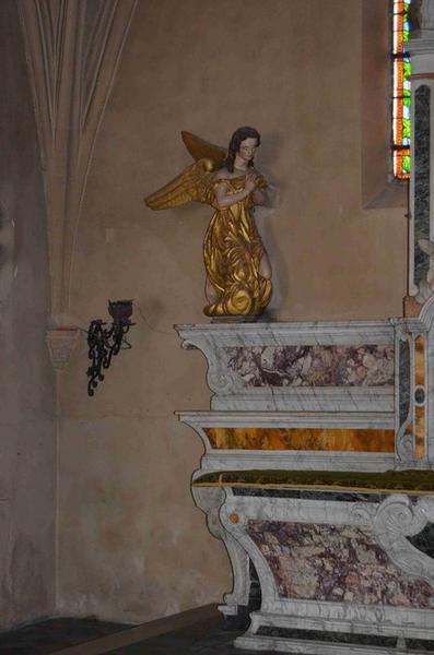 Autel de la chapelle Sainte-Anne (ancien maître-autel), détail