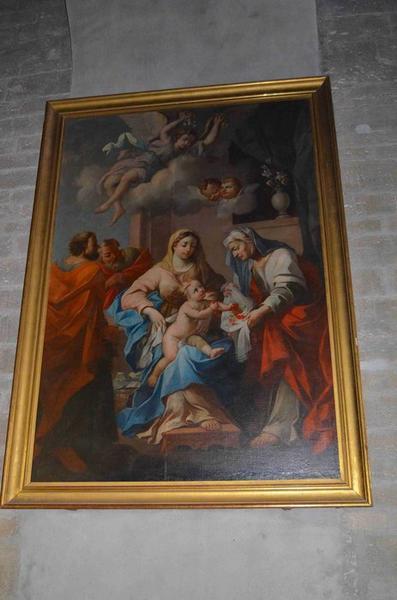 Tableau : Sainte Famille (la),vue générale