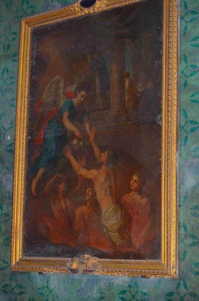 Tableau : Messe pour les âmes du purgatoire