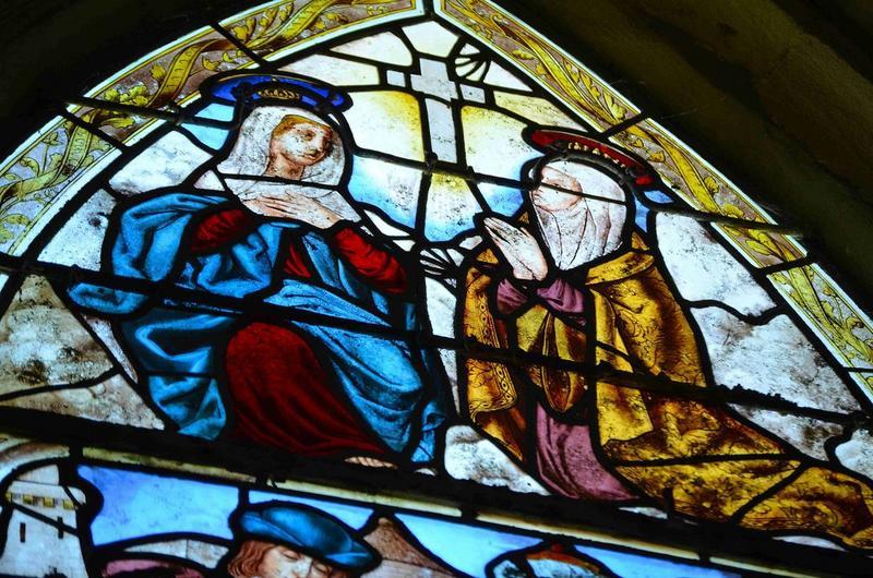 Verrière : Vie de la Vierge et de sainte Hélène