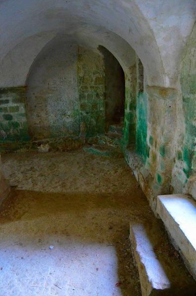 Crypte, vue partielle