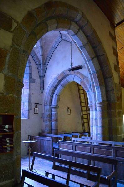 Chapelle de la Sainte Vierge, vue partielle