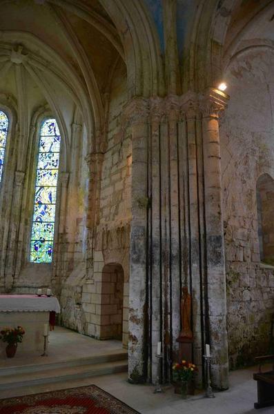 Pilier sud-est de la croisée du transept, vue générale