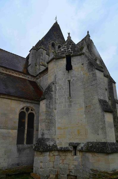 Transept sud, vue générale
