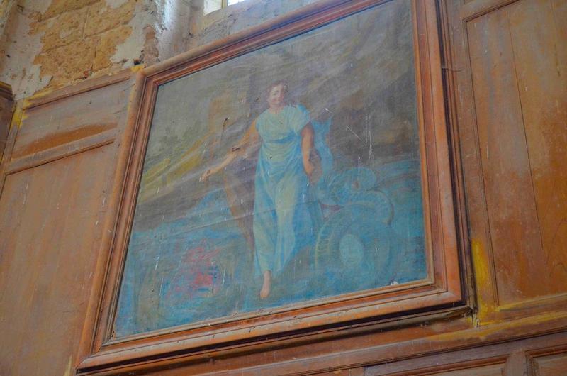 Tableau : sainte Marguerite, vue générale