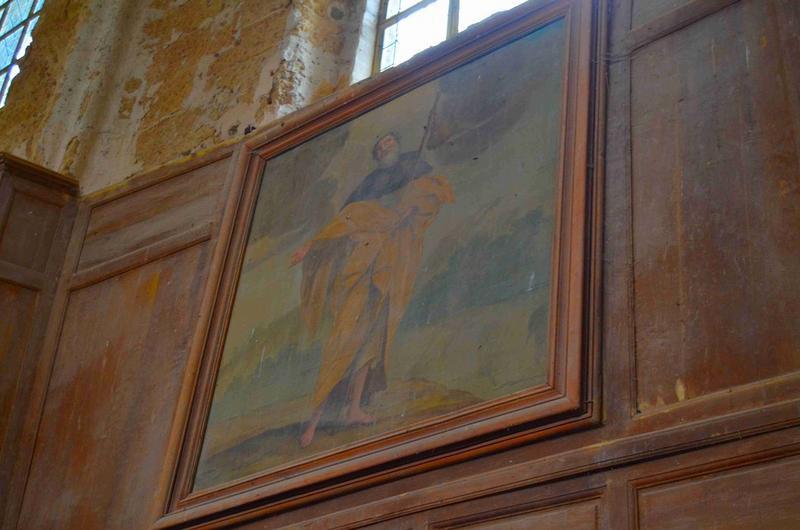 Tableau : saint Jacques le Majeur, vue générale