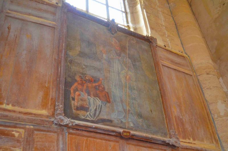 Tableau : saint Nicolas, vue générale