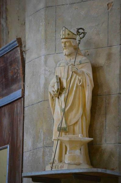 Statue : saint Eloi, vue générale