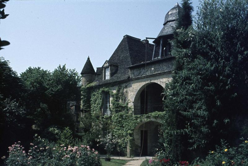 Ancien tribunal civil, arcature et clocheton