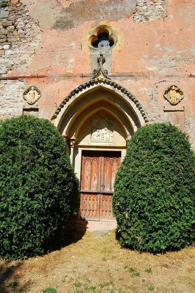 chapelle, porche sud, vue générale