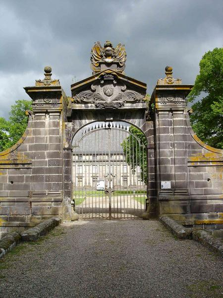 portail sud-est, vue générale