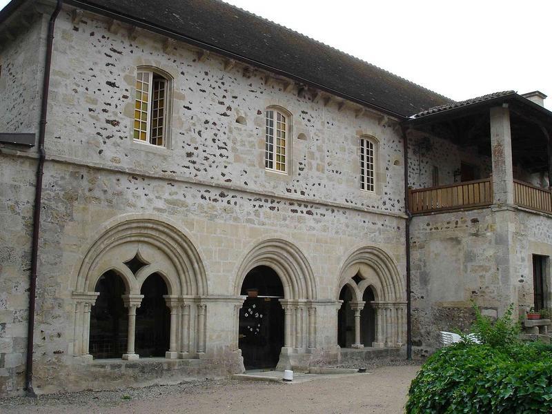 salle capitulaire, façade ouest, vue partielle