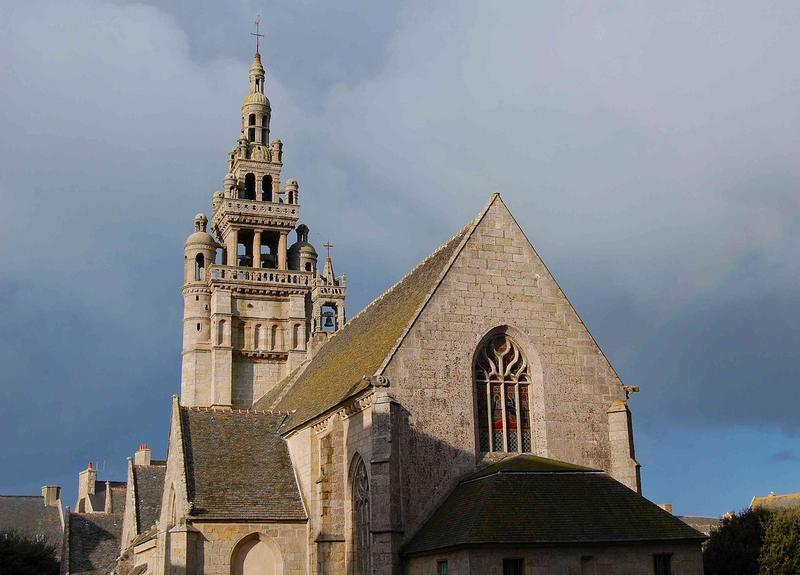 Eglise Notre-Dame de Croaz-Batz et enclos