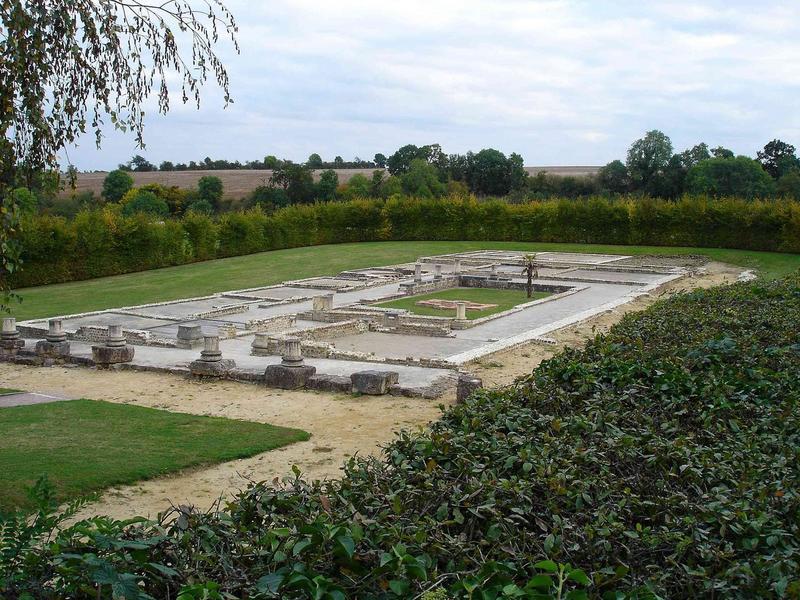 villa, vue générale