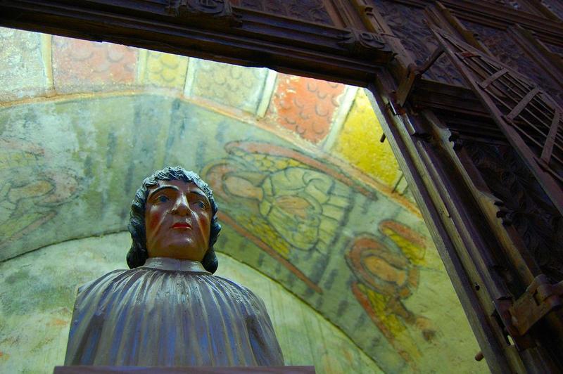 buste : saint Geoffroy, vue générale