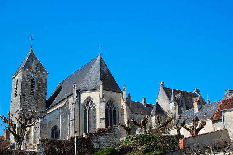 Ancienne collégiale Sainte-Menehould, actuelle église Saint-Sulpice
