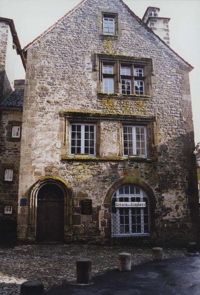 vue générale de la façade