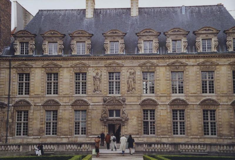 façade nord sur jardin, vue générale