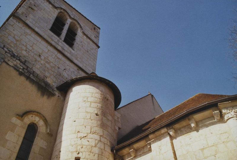 vue partielle du clocher