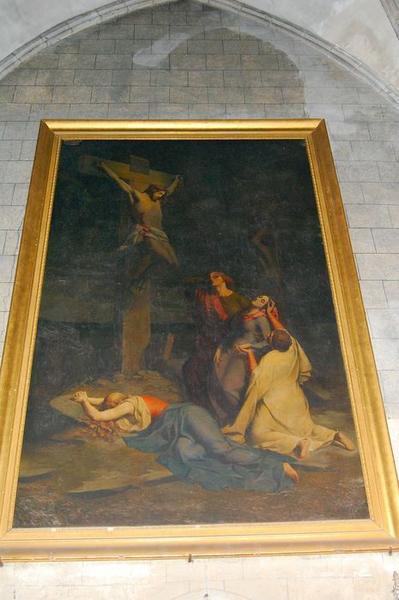 Tableau, cadre : les Saintes femmes au pied de la croix, dit le Calvaire