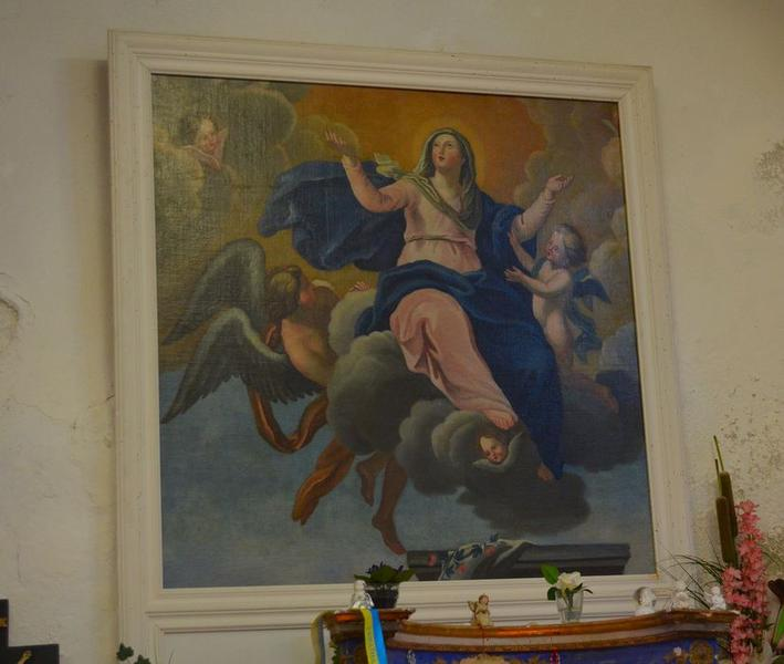 tableau : l'Assomption de la Vierge, vue générale