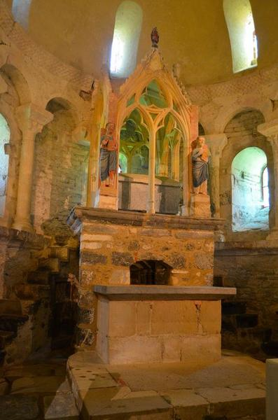 ciborium (baldaquin d'autel), vue générale