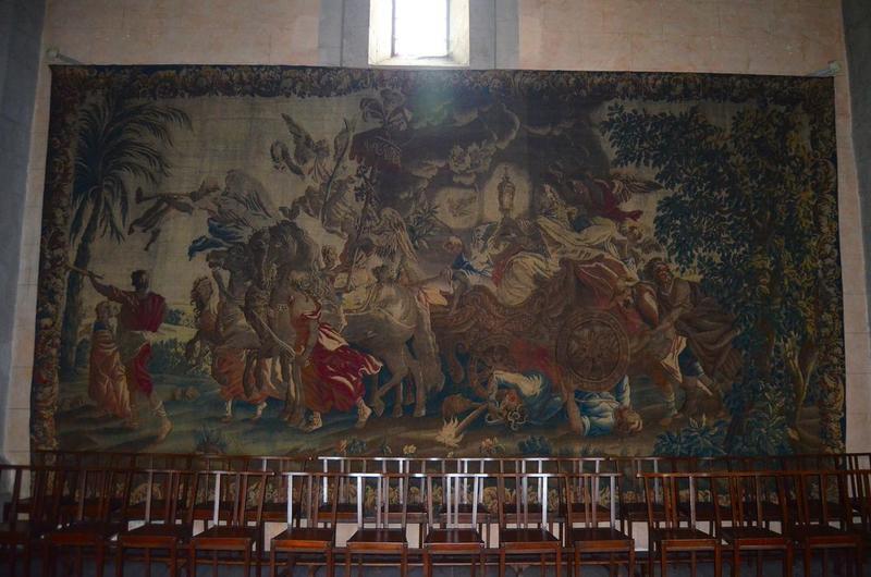 tableau de tapisserie : Triomphe de la foi, vue générale