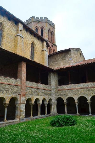 Ancienne cathédrale et cloître