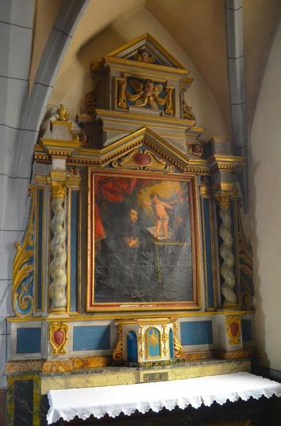 Retable et son tableau : Saint Antoine de Padoue