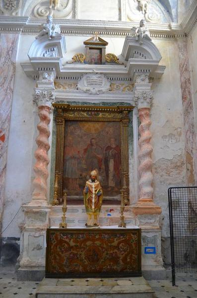 Devant d'autel : Saint Charles Borromée