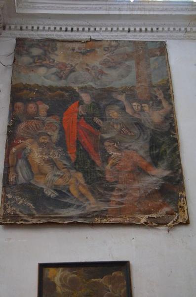 tableau : la Mise au tombeau, vue générale