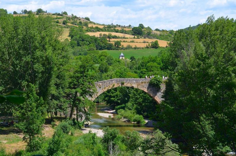 vue générale du pont en aval