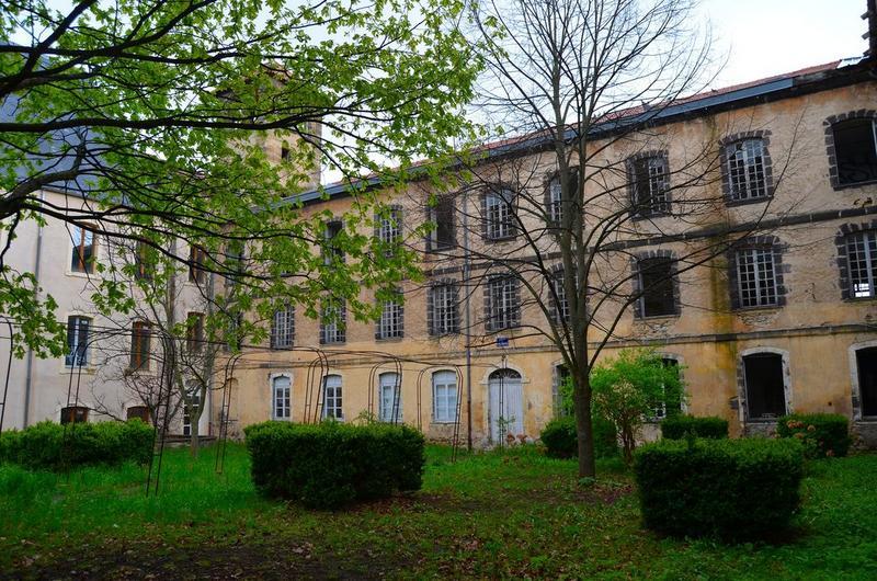 cour de Strasbourg, aile est, façade ouest, vue partielle