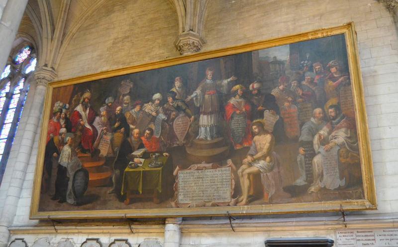 tableau : Christ devant Pilate (le), vue générale